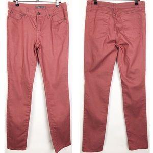 PrAna   Lacquered Rose Kayla skinny jeans